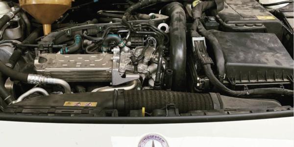 Olio motore Mercedes